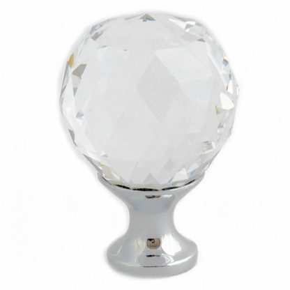 knott i krystall og aluminum