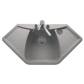 Telma hjørnevask i kompositt