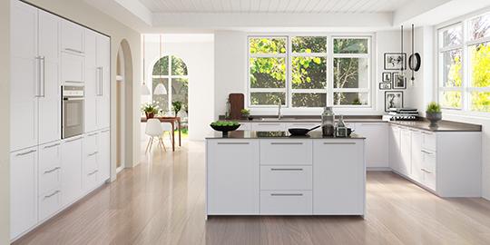 Kjøkkenmodellen Cannes: Moderne og landlig kjøkken