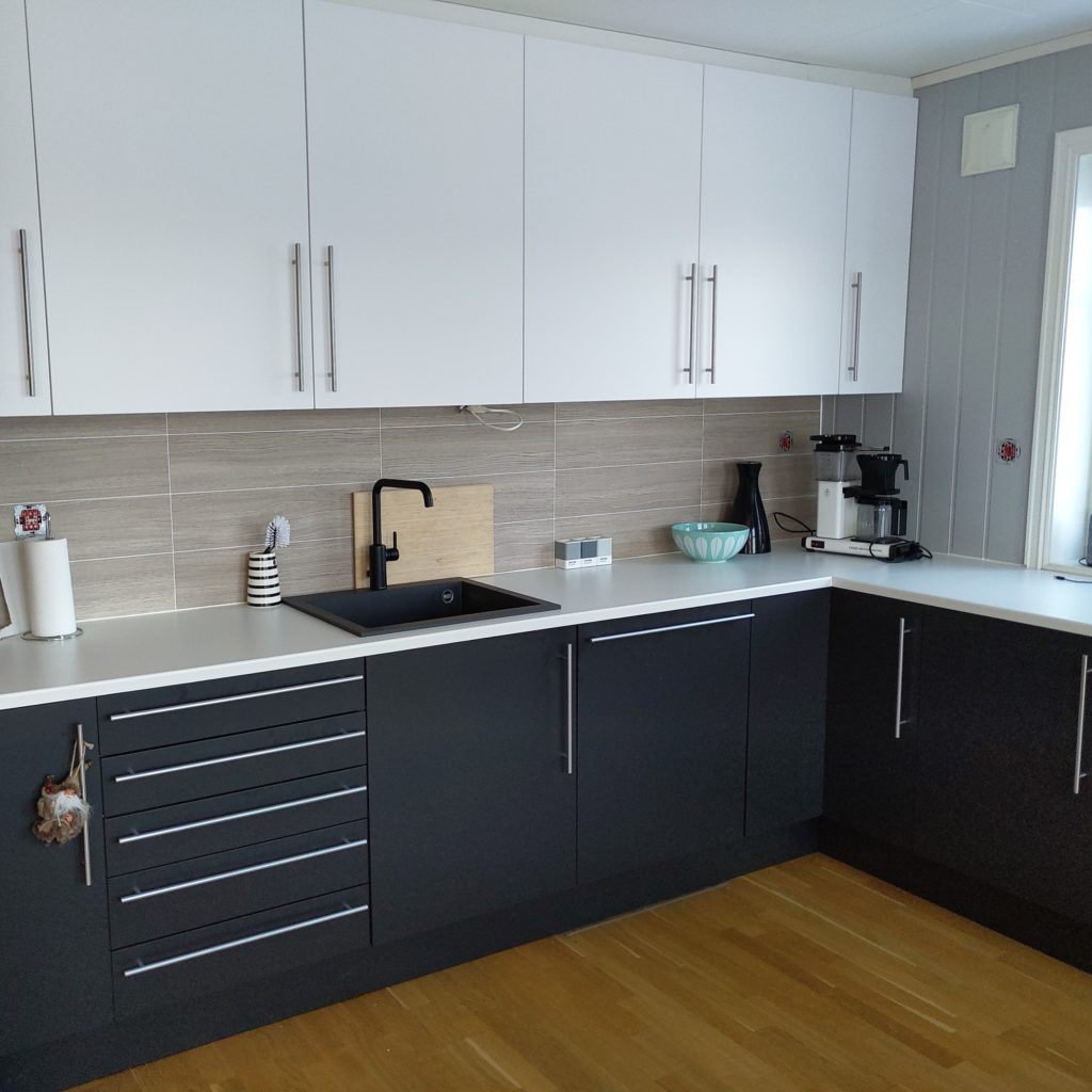 Kjøkkenfornyelse av Sigdal kjøkken