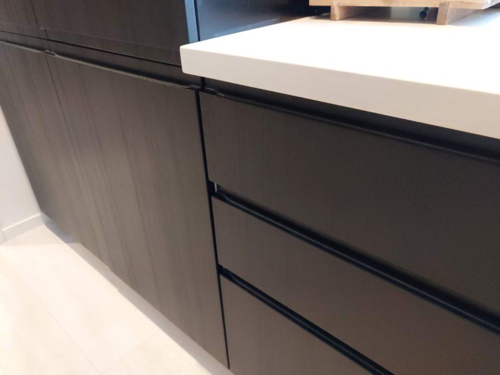 Kjøkkenfornyelse med nye kjøkkenfronter